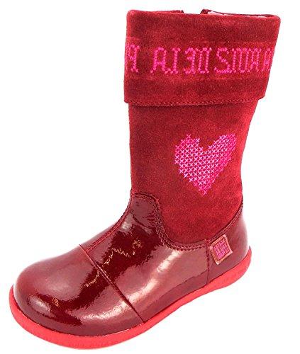 Agatha Ruiz De La Prada 151941, Stivali bambine rosso Rot, rosso (Rot), 25 EU Kinder