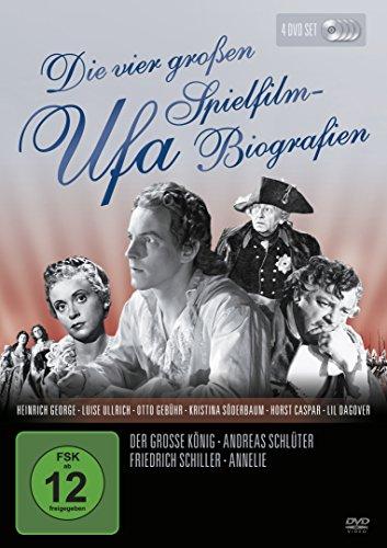 Die vier großen Ufa Spielfilm-Biografien [4 DVDs]
