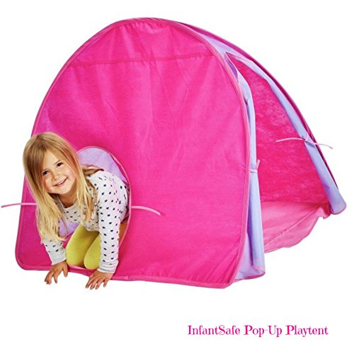 InfantSafe Pink Pop-Up Playtent