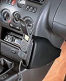 KUDA Telefonkonsole (LHD) für: FIAT Coupe ab 94/Echtleder Schwarz