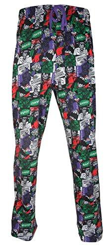 TruffleShuffle Mens Joker Collage Lounge Pants
