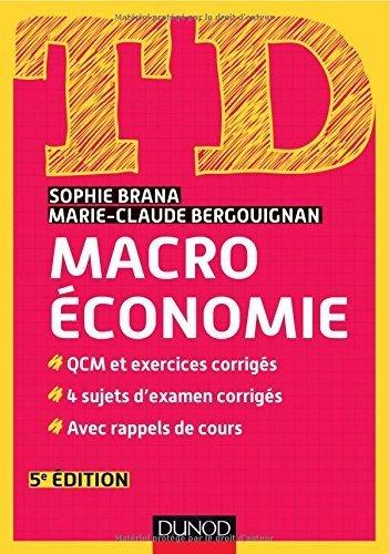 td-macroconomie-5e-dition-de-sophie-brana-21-janvier-2015-broch