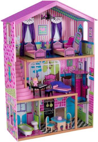KidKraft 65255 - Haushaltsspielzeug Suite Elite Herrenhaus, rosa/pink