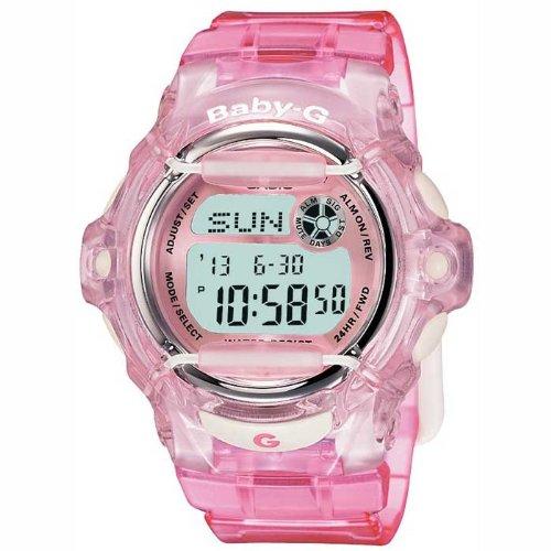 CASIO BABY-G BG-169R-4ER - Reloj de cuarzo con correa de resina para mujer (con cronómetro, alarma, luz), color rosa