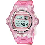 CASIO Baby-G BG-169R-4ER - Reloj de mujer de cuarzo, correa de resina color rosa (con cronómetro, alarma, luz)