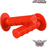 ONEAL WAFFLE MX GRIFFE GRIFFGUMMI ROT 22 MM MOTORRAD ROLLER QUAD LENKERGRIFFE