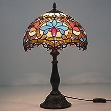 '12Lotus Tiffany lámpara