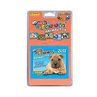 Panini 003217blie Amici Cucciolotti Trading Cards Assorted Pack of 10P 'tits Animals