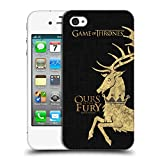 Official HBO Game of Thrones Baratheon House Mottos Hard Back Case for Apple iPhone 4 / 4S