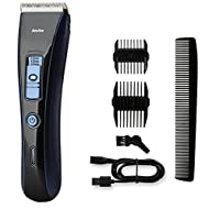 Hair Clipper Cordless, Professional Hair Clippers Set Rechargeable Clippers Hair Trimmer Beard Shaver Electric Haircut Kit Ceramic Blade for Men, Family Use