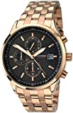 Sekonda Men's Quartz Watch with Grey Dial Chronograph Display and Rose Gold Stainless Steel Bracelet 105927