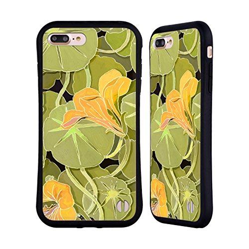 Ufficiale Howie Green Ciotola Di Papaveri Fiori Case Ibrida per Apple iPhone 7 Plus / 8 Plus Ninfee