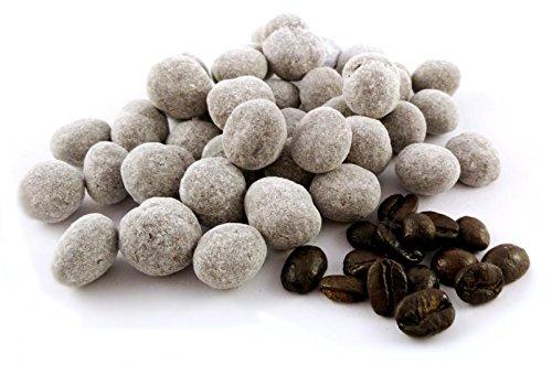 Edelmond Arabica Bio Kaffeebohnen in Schokolade. Handgemachte zart-bittere Kakaobohnen &...