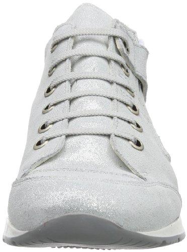 Däumling  Jana - Julia, Baskets pour fille Argent Lightness ghiaccio Blanc - Elfenbein (Lightness ghiaccio)