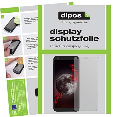 dipos I 2X Schutzfolie matt passend für Sharp B10 Folie Displayschutzfolie