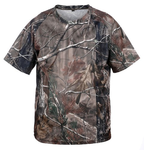 Lucky Bums Kid 's Performance Short Sleeve T-Shirt, Kinder, Realtree APHD (Jagd-jacken Wasservögel)
