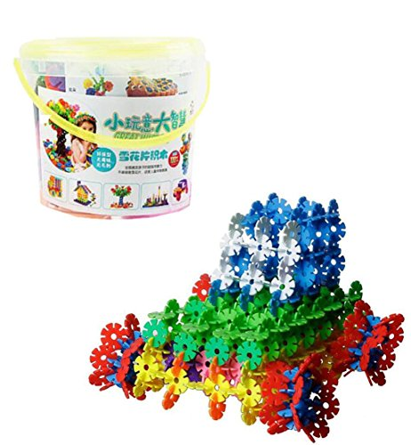 HJXJXJX Kinder Puzzle Puzzle Bugs Baby Puzzle Spielzeug montiert Kunststoff Schneeflocken