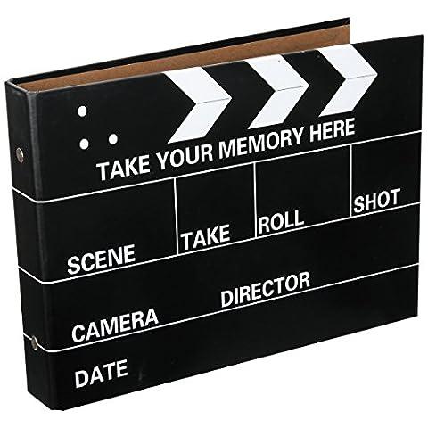 [Fujifilm Instax Mini Foto Album] - CAIUL 50 Seiten DIY Fotohüllen für Mini 70 7S 8 25 50 90/ Pringo 231/ Instax SP-1/ Polaroid PIC-300P/ Polaroid Z2300 Film (Film Schindel) - Snap Pagina Protezioni