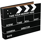 [Fujifilm Instax Mini Foto Álbum] - CAIUL 50 Páginas DIY Álbum para Fujifilm Instax Mini 70 7s 8 25 50 90/ Pringo 231/ Instax SP-1/ Polaroid PIC-300P Z2300 Film (Tablilla de la Película)