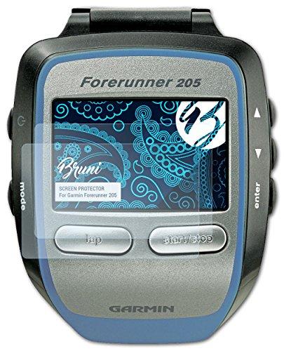 bruni-garmin-forerunner-205-pellicola-proteggi-2-x-cristallino-protezione-pellicola-dello-schermo-pe