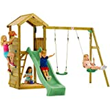 Plum Premium Wooden lookout Tower with Swings