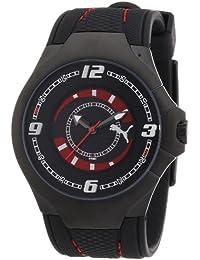 Puma Time Motorsport Herrenuhr SLIM PEDAL II GENTS BLACK A.PU101681001