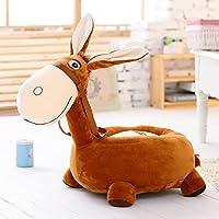 Preisvergleich für MAXYOYO Kinder Plüsch Spielzeug Little Esel Ultra Weich Gefülltes Plüsch Puppe, Tatami Sofa Stuhl für Kinder, Kleinkinder/Kinder/Baby Coffee