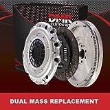 Altea 1.9 TDia - Kit de inserción de rueda de recambio de doble masa (volante sólido)