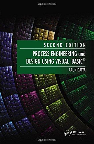Read PDF Process Engineering and Design Using Visual Basic