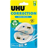 UHU 50710 2 Correction Tape Rollers 5 mm 6 metres