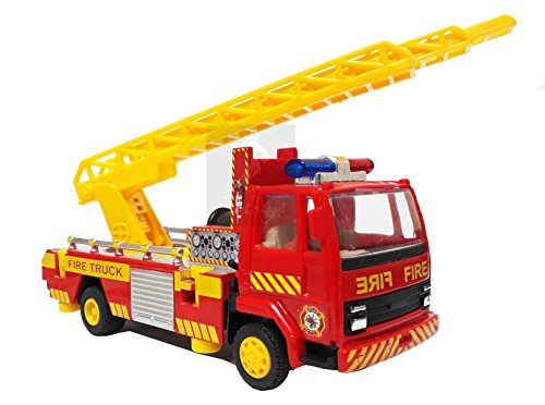 Fire Ladder Truck (With Ladder and Swivel Rotation 360 Degree)