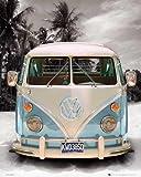 empireposter - Volkswagen - VW Bus - Größe (cm), ca. 40x50 - Mini-Poster, NEU -