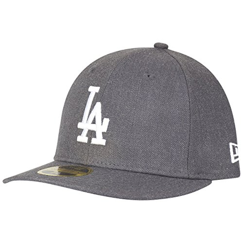 New Era 59Fifty LOW PROFILE Cap - LA Dodgers heather (Hüte Crown Low)