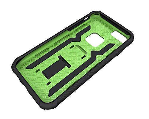 Custodia iPhone 7, iPhone 7 Cover Silicone, SainCat Custodia in Silicone Morbido Cover per iPhone 7, Antiurto Shock-Absorption 3D Silicone Case Ultra Slim Sottile Morbida TPU Gel Cover Silicone Case A Verde