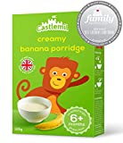 Castlemil Infant Cereals Creamy Banana Porridge 6 Months Plus – No Artificial Flavours or Preservatives 125g (Pack Of 4)