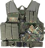 normani USMC SWAT Einsatzweste mit Koppel (high quality equipment) Farbe Flecktarn