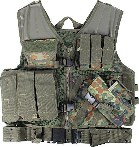 USMC SWAT Einsatzweste mit Koppel (high quality equipment) Farbe (Kostüm Marine States United)