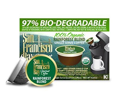 San Francisco Bay Coffee OneCup 72 ct. Rainforest Blend by Rogers Family Coffee Co.