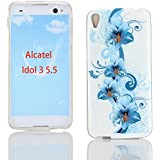 Kit Me Out TPU-Gel-Hülle für Alcatel OneTouch Idol 3 (5.5