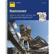 ADAC StadtAtlas Hannover/Hildesheim mit Celle, Hameln, Nienburg, Peine 1:20 000 (ADAC Stadtatlanten 1:20.000)