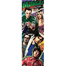 Empire Big Bang Theory Bazinga! - Póster para puerta, diseño de Big Bang Theory