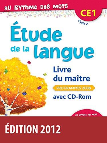Au rythme des mots CE1 • Livre du maître avec CD-Rom