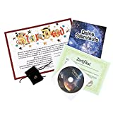van Hoogen Sterntaufe Luxus Geschenkbox | inkl. echte Sternschnuppe | inkl. Software | Super Komplettpaket