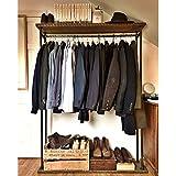 Rústico Industrial de ropa/rack