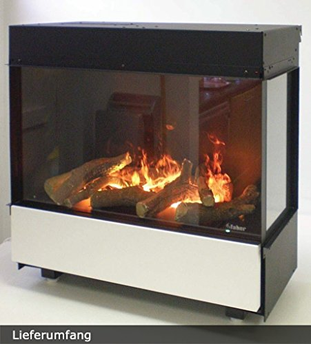 Faber 3 Step Interior Built-in Fireplace Negro - Chimenea (763 mm, 351...