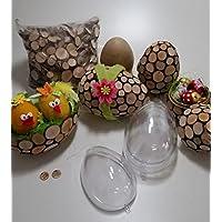 Bois naturel oeufs de Pâques Kit de bricolage