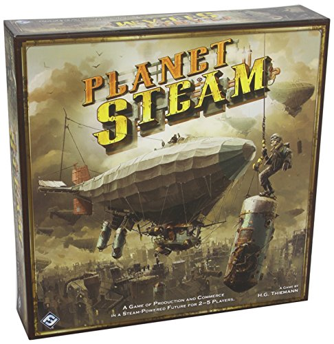 Preisvergleich Produktbild Planet Steam Board Game