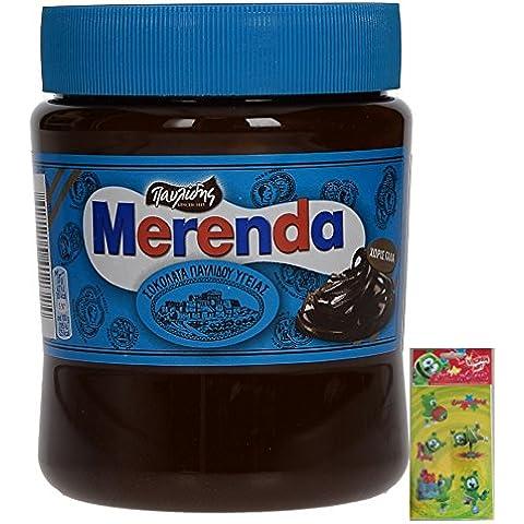 Merenda Dark Chocolate Spread No Milk Added 360gr / (12,7 Ounce Chocolate)