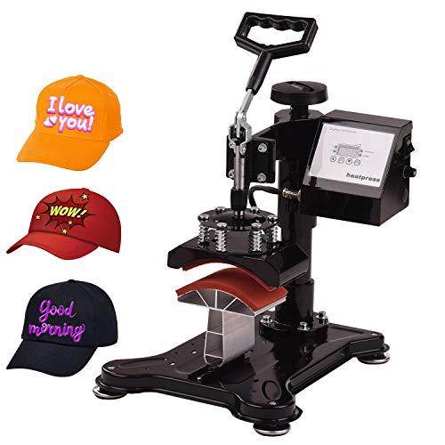 Aibecy Tassenpresse Textilpresse T Shirtpresse Heat Press Machine 5.5x3 Zoll Swing Away Combo Digital Thermotransfermaschine