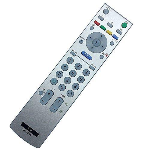 ALLIMITY RM-ED007 Control Remoto Reemplazar por Sony LED LCD Bravia TV KDF-50E2000 KDF-50E2010 KDL-15G2000 KDL-20G2000 KDL-20S2000 KDL-20S2020 KDL-26P2530 KDL-26U2000 KDL-32P2530 KDL-32U2000